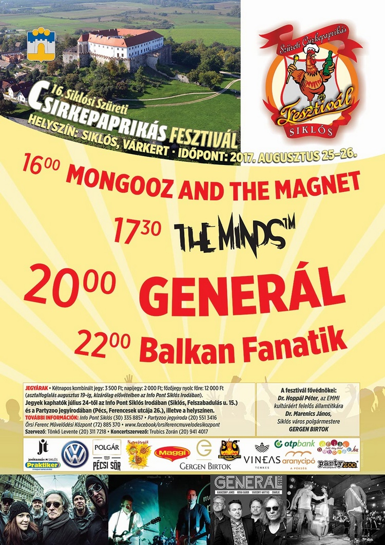 Mongooz and The Magnet, The Minds, Generál, Balkan Fanatik